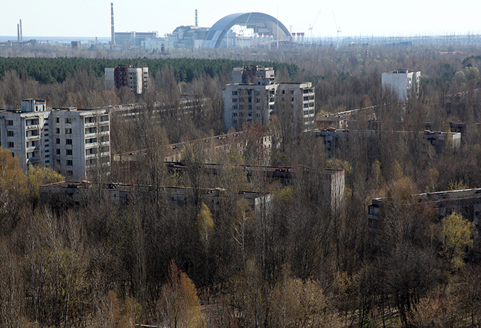 Chernobyl Nuclear Power plant. (AFP Photo / Anatoly Stepanov)