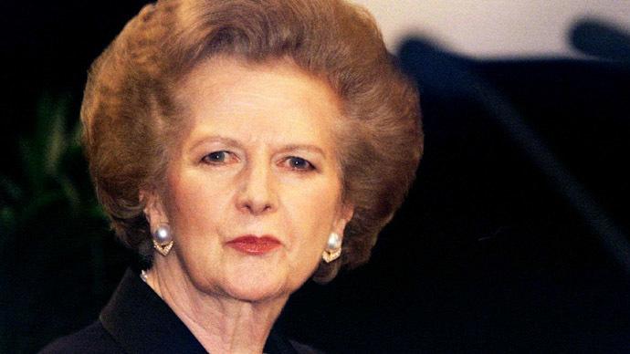 Former British Prime Minister Margaret Thatcher (Reuters / Kieran Doherty)