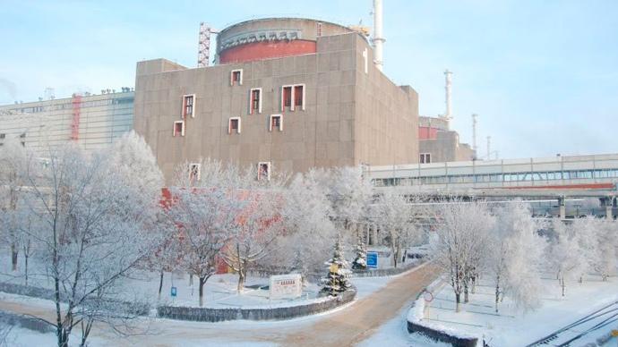 Radioactive leak at major Ukrainian nuclear plant – report
