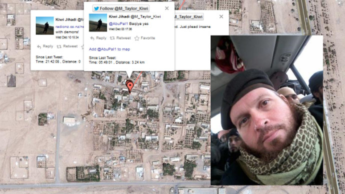 Geo-jihad: New Zealand militant accidentally tweets his Syria location