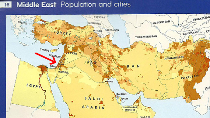 World's top publisher 'regrets' erasing Israel from atlas meant for Middle East customers