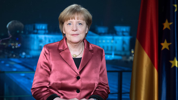Merkel lashes out at anti-Islamic protests while 1 in 8 Germans would attend