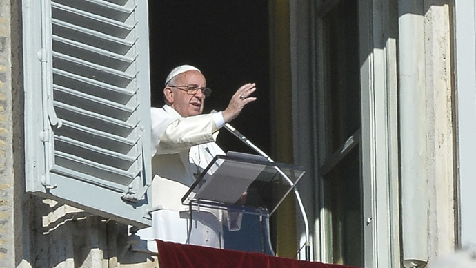 Pope Francis condemns human trafficking, slavery in NY address
