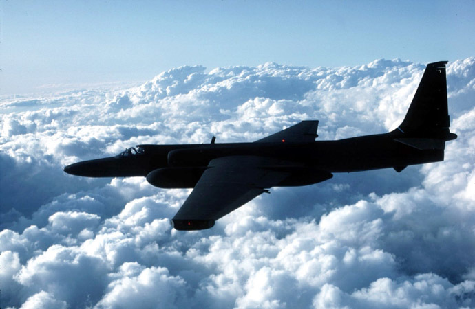 U-2 spy plane (AFP Photo/US Air Force)