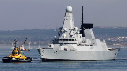 ​Royal Navy warship embarks on mission to combat piracy