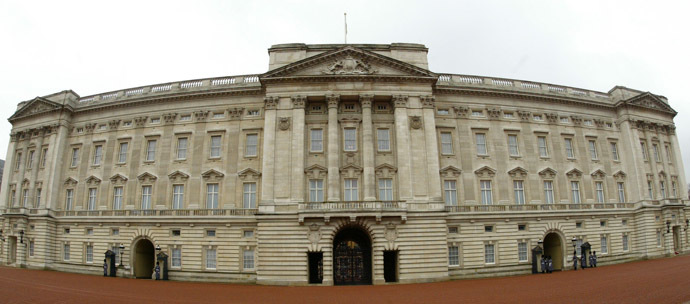 Buckingham Palace in London (AFP Photo/Carl De Souza)