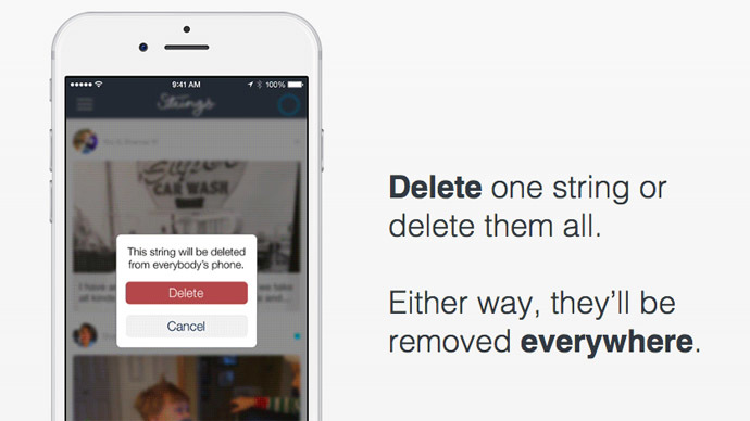 'Untexting': New app allows remote removal of text, photos