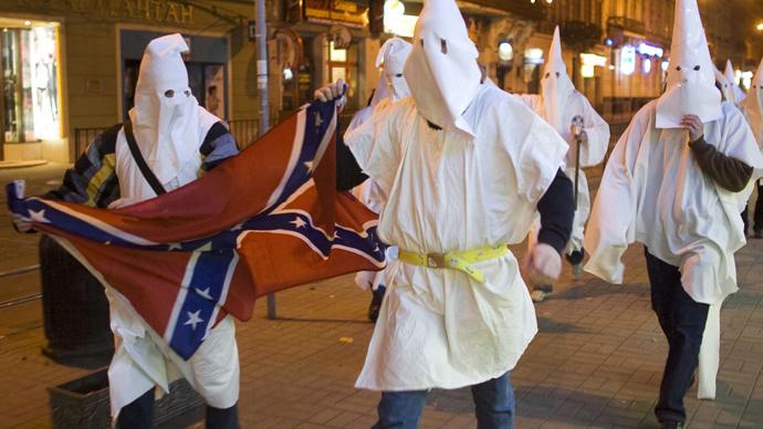 KKK's 'white pride' billboard stirs controversy in Arkansas