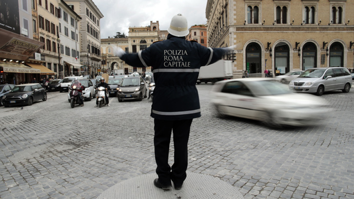 ​83% of Rome's police call in sick on New Year Eve