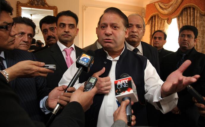 Nawaz Shariff (Reuters / Luke MacGregor)