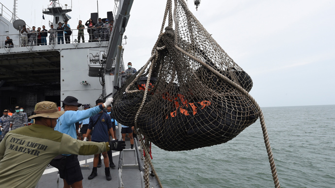 Four 'big' parts of AirAsia QZ8501 plane found – Indonesian officials