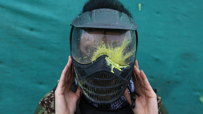 ​Just shoot me: 10,000 job applicants for 'human paintball impact tester'