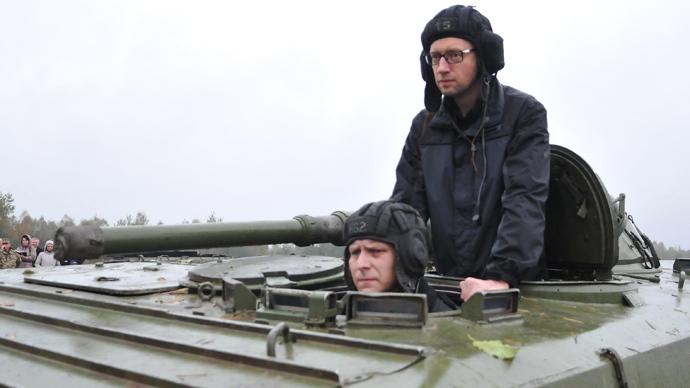'Premier of war': Czech president says Yatsenyuk not seeking peaceful solution for E. Ukraine