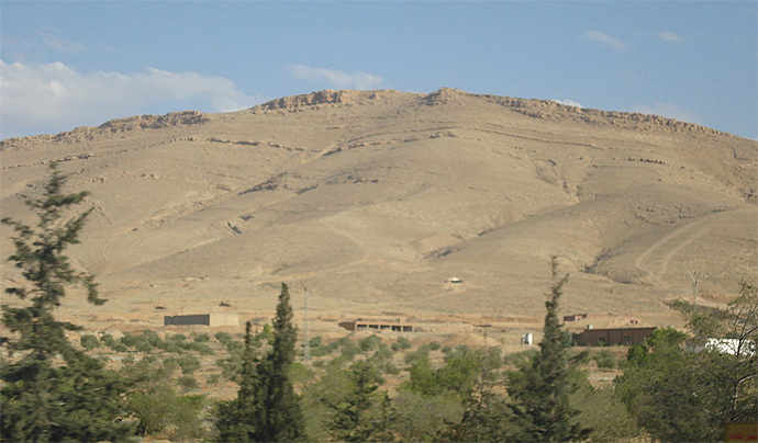 The Qalamun Mountains (Image from wikipedia.org)