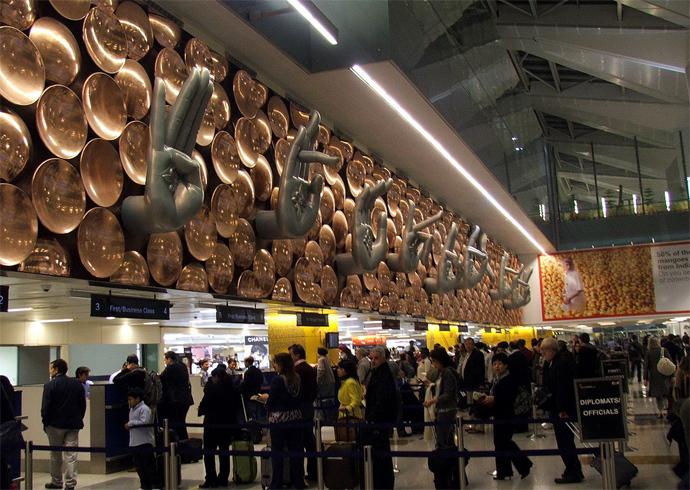 Indira Gandhi International Airport (Image from wikipedia.org)