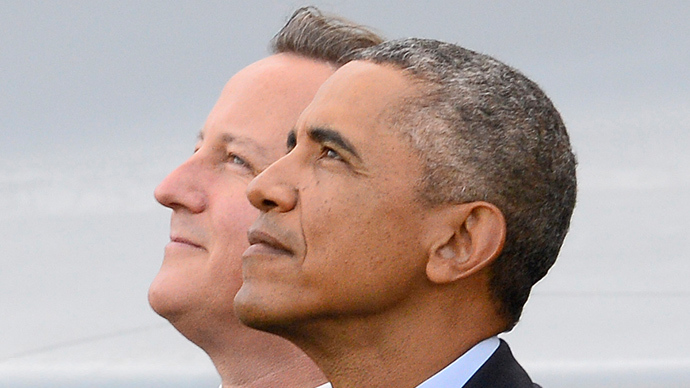 'Bro's in arms: Obama-Cameron 'special relationship' gets even friendlier