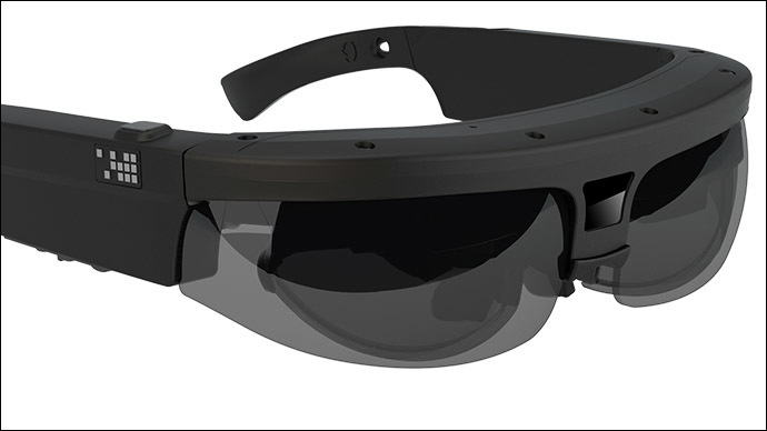 ODG's fully-integrated augmented reality Smart Glasses for Government and Enterprise customers .(Image from osterhoutgroup.com)