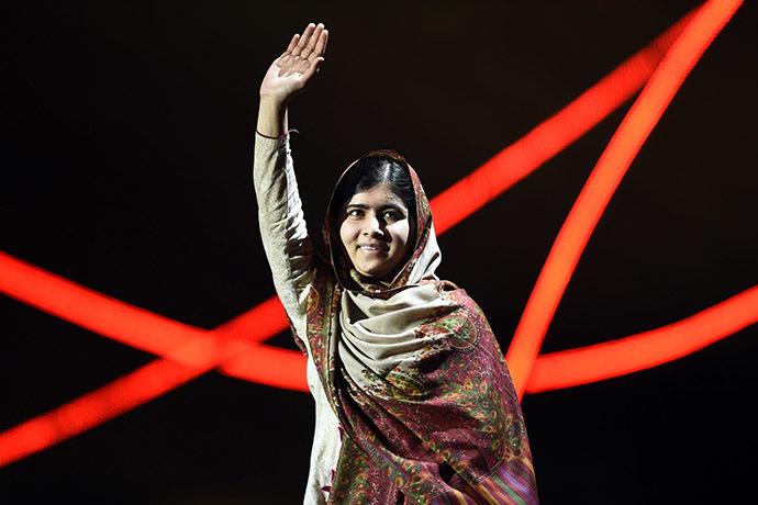 Nobel Peace Prize laureate Malala Yousafzai. (AFP Photo/Odd Andersen)