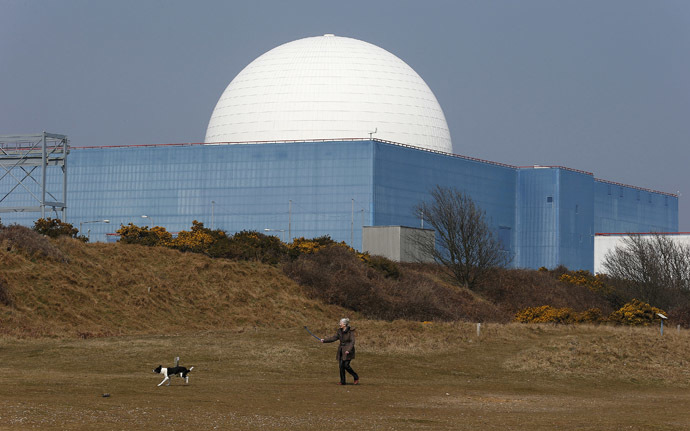 Sizewell B nuclear power station in Suffolk, southeast England (Reuters/Suzanne Plunkett)