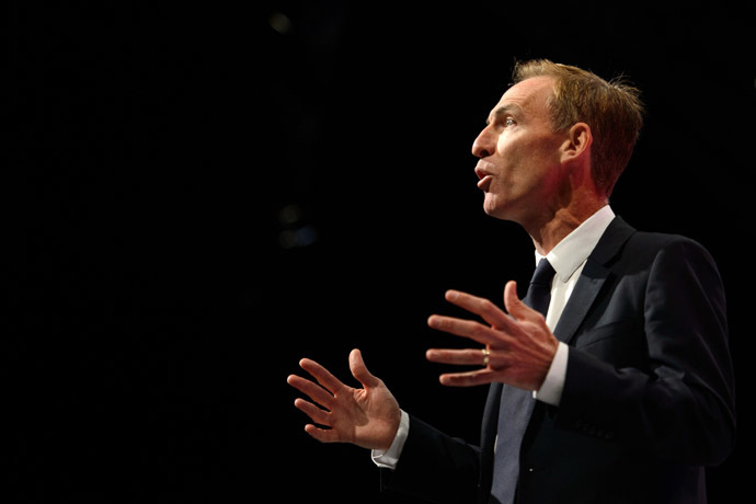 Scottish Labour leader Jim Murphy (AFP Photo/Leon Neal)