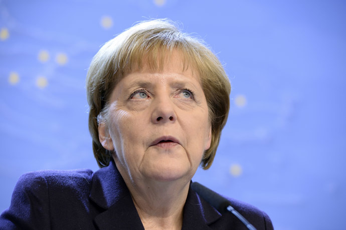 Federal Chancellor of Germany Angela Merkel (AFP Photo/Thierry Charlier)