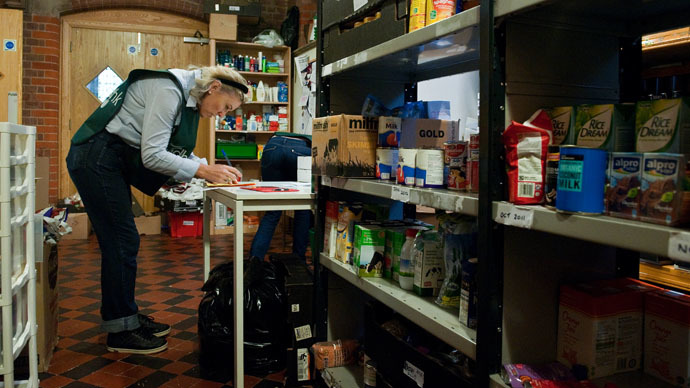 ​Food bank users have 'drug, alcohol & mental health problems' – Tory councilor