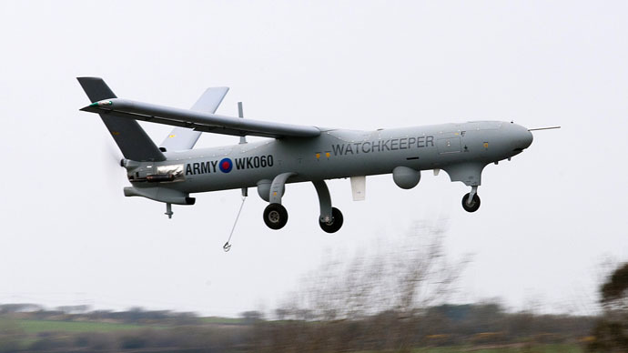Thales Watchkeeper WK450 (Photo from Wikipedia.org)