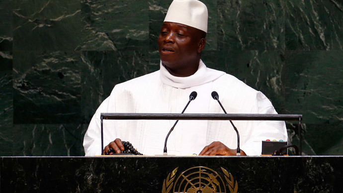 Two US citizens accused of plotting to overthrow Gambian government