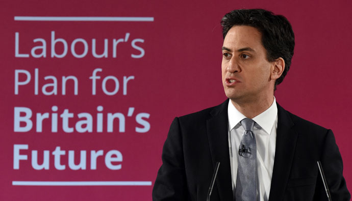 Leader of the opposition Labour Party Ed Miliband (AFP Photo/Paul Ellis)
