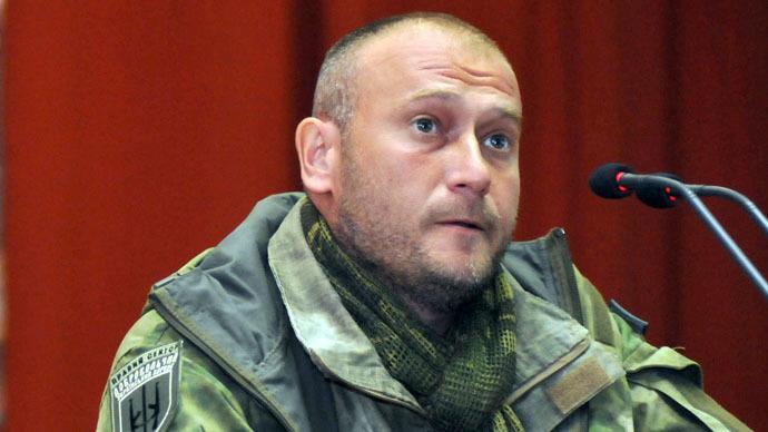 Right Sector's leader Dmitry Yarosh (RIA Novosti/Pavel Palamarchuk)