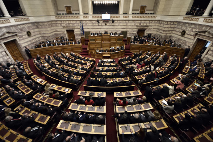 Greek parliament (AFP Photo/Aris Messinis)
