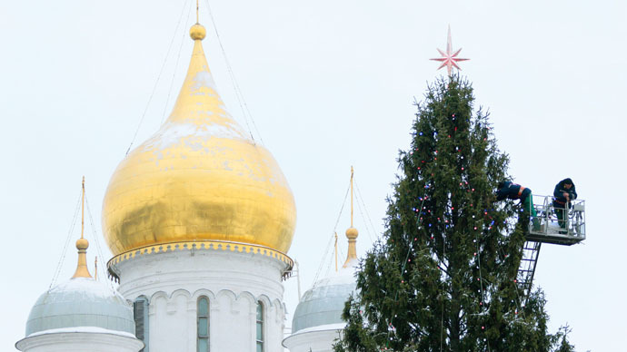 Orthodox Christians prepare to celebrate Xmas as bitter cold strikes Russia