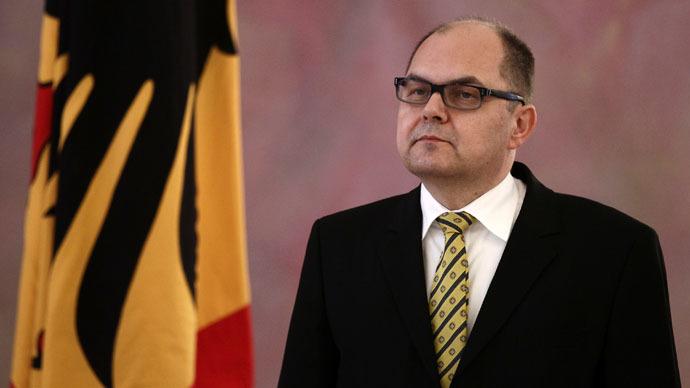 German Agriculture Ministe,r Christian Schmidt.(Reuters)