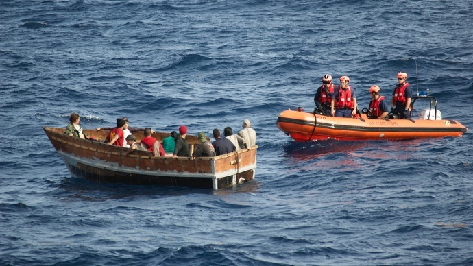 Flood of 'boat people': US Coast Guard sees 117% rise in Cubans sailing to Florida