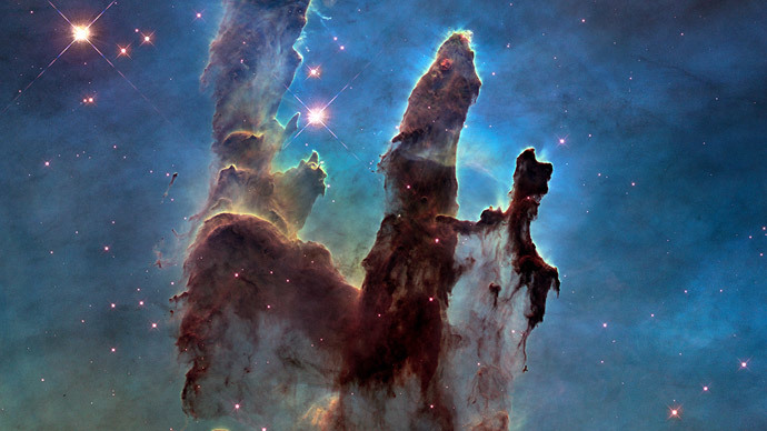 NASA's iconic 'Pillars of Creation' image gets amazing hi-res makeover