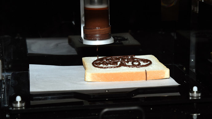 Breaking convention: New 3D food printer makes edible cookies