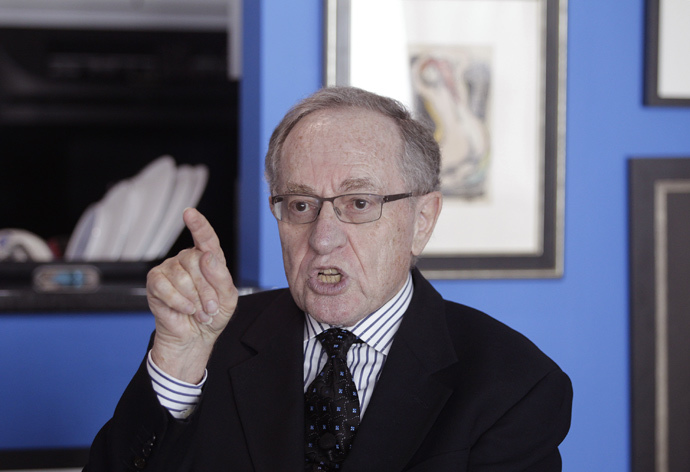 Attorney and law professor Alan Dershowitz (Reuters / Andrew Innerarity)