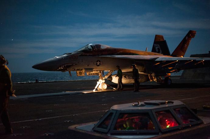 AFP Photo / Handout / US Navy / MC2 John Philip Wagner Jr. / Released
