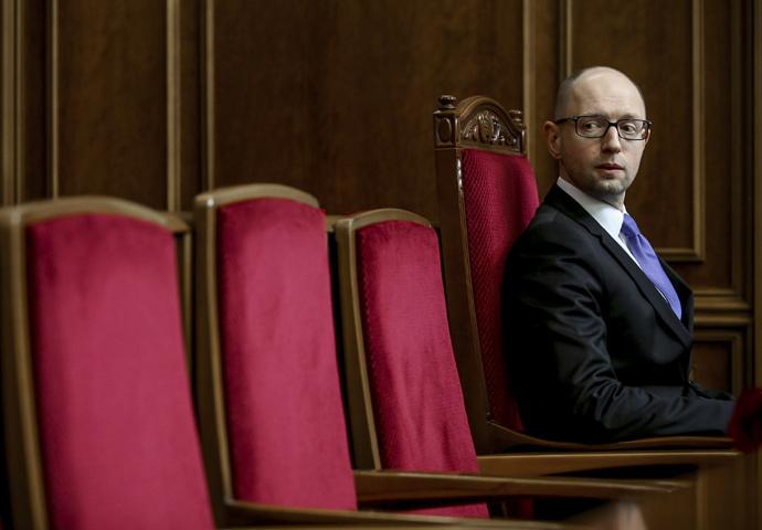 Ukraine's Prime Minister Arseny Yatsenyuk (RIA Novosti / Mikhail Palinchak)