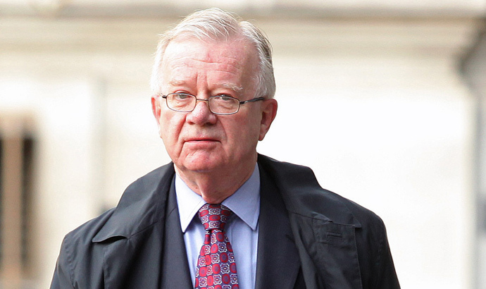 Sir John Chilcot (AFP Photo / Shaun Curry)