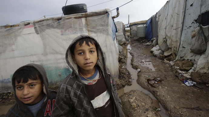 Global conflicts prompted record numbers of refugees in first half of 2014