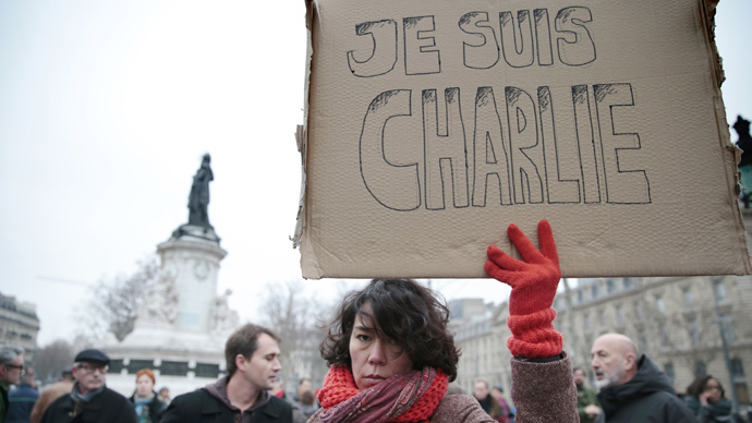#JeSuisCharlie: World stands with Charlie Hebdo victims