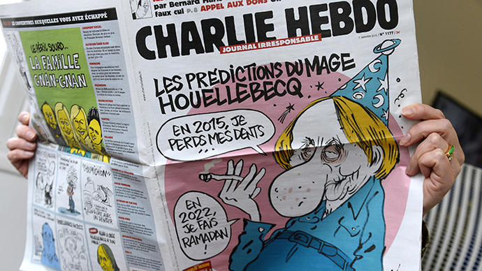 Prophetic tweet? Charlie Hebdo posted image of ISIS leader hour before attack