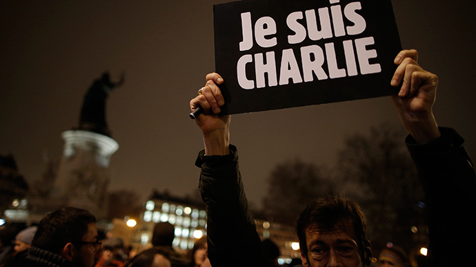 Vigils held across Europe in support of Charlie Hebdo, press freedom (PHOTOS)