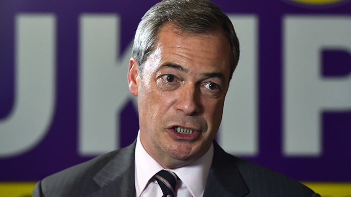 Nigel Farage accused of using Paris atrocity for 'political point' scoring