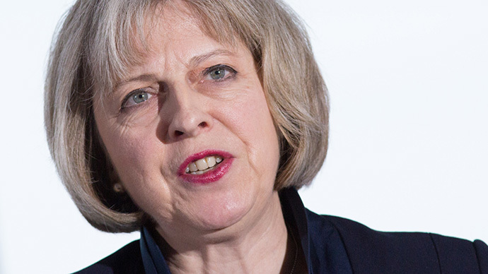 British Home Secretary Theresa May (AFP Photo/Andrew Cowie)