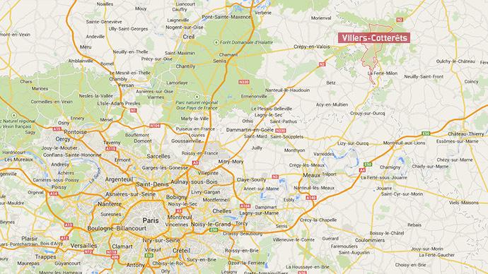 Screenshot from Google Maps