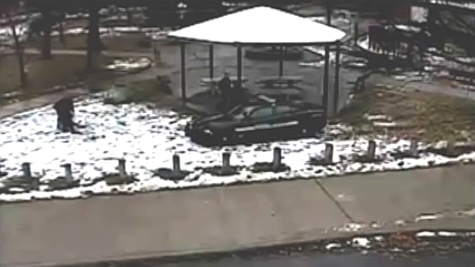 ​Cleveland police share new footage of fatal Tamir Rice shooting (VIDEO)