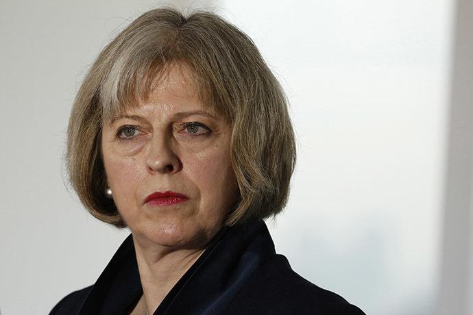 Britain's Home Secretary, Theresa May. (Reuters/Luke MacGregor)