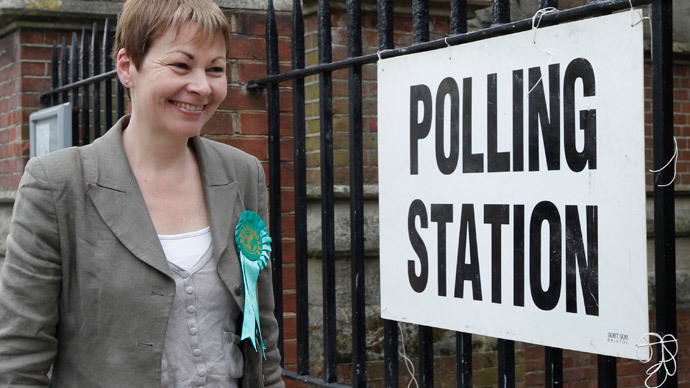 Green Party leader Caroline Lucas.(Reuters / Luke MacGregor)